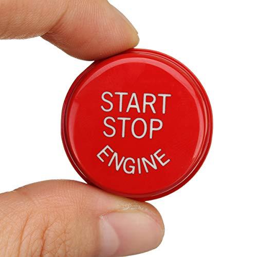 centres Starter D/émarrage du moteur Bouton darr/êt /à capuchon en ABS Code Coque pour 1 2 3 4 5 7 Series X1 X3 X4 X5 X6 Ch/âssis E F G