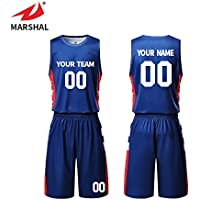 9356d579203 ZHOUKA mens custom sublimation printing basketball jersey set team uniform  design blue