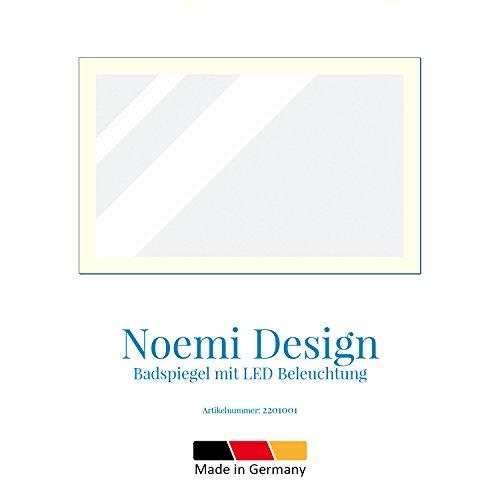 LED Badspiegel mit Beleuchtung 130 cm - 3