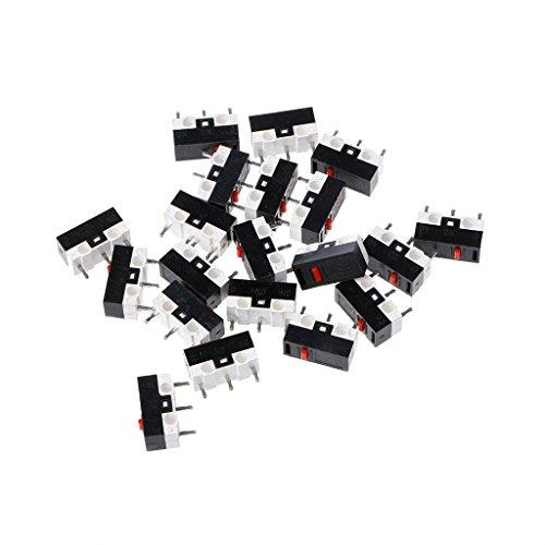 BIlinli 10 stücke Taste Schalter Maus Schalter 3-pin-mikroschalter für Razer Logitech G700 Maus