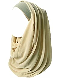 785e7686ce4 Lina   Lily Hijab pour Femmes Mousseline Foulard Écharpe Turban Châle  Islamique