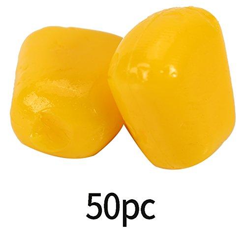 Angelköder 50 Stück Mais Künstliche Gefälschte Weiche Karpfen Schwimmköder Zubehör -