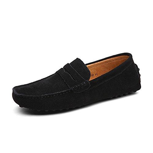 DUORO Mocasines de Piel Zapatos para Hombre