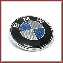 Insignia de BMW de fibra de carbono, 74 mm, para E, serie 3, E46, E90 y serie Z.