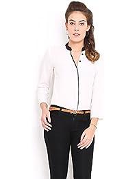 Dheylu Creation Women'S Shirt (Shirt New_White_X-Large)