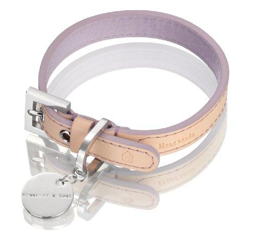 3/33 Hundehalsband Natural LV, M, 30-37 cm, lila ()