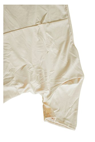 TOOGOO(R) Retro-robe a crayon lache elegante de patchwork du col en V vert M Kaki