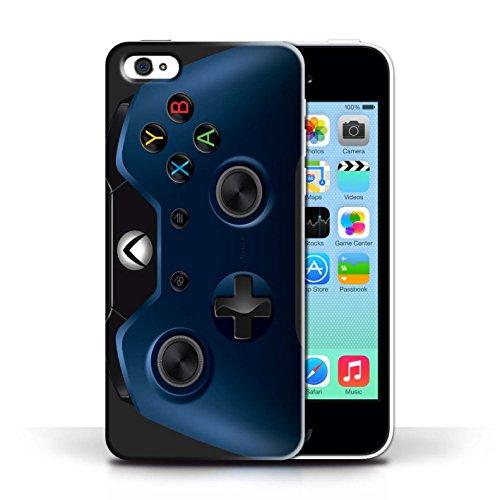 Coque de Stuff4 / Coque pour Apple iPhone 5C / Bleu Design / Jeu Vidéo/Xbox One Collection