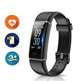 Fitness Band, MUZILI 130C Activity Tracker with Heart Rate Monitor, IP68 Waterproof Smart