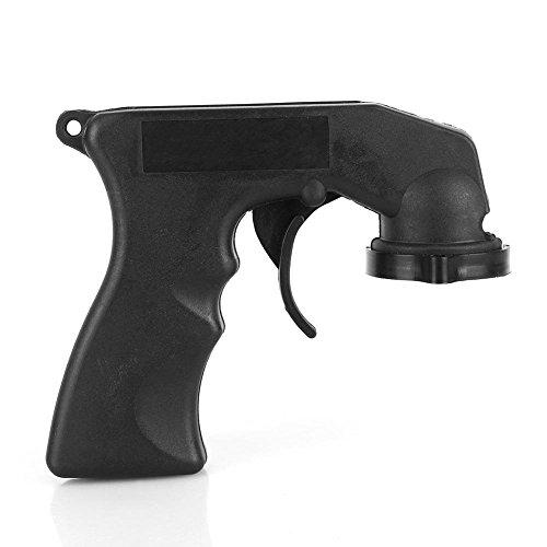 Keenso Aerosol Spray Tool Farbspritzpistole Griff Adapter mit voller Griff Trigger Locking Collar KFZ Maintenance -