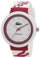 Lacoste 2010523 - Reloj analógico unisex de cuarzo con correa de silicona multicolor de Lacoste