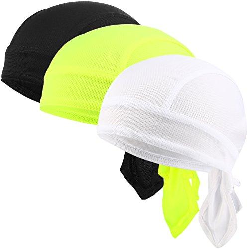 Bandana Kopftuch Sommermütze Fahrrad Kopfbedeckung Bandana Set 3 Stück