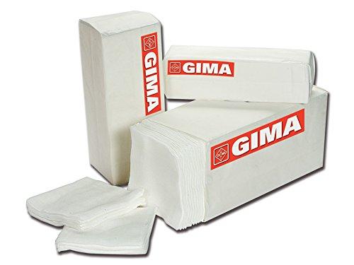 GiMa 35005Baumwolle Schwamm Pad, 16-ply, Größe: 5cm x 5cm (1000Stück) -