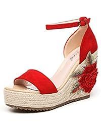 yalanshop Pente avec des sandales bohème été féminin avec strass style ethnique 2017 nouvelle tendance étudiant chaussures de plage pour femmes KOtmY