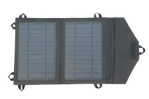 M-Lumi faltbares Solarpanel 7 Watt mit USB-Ausgang - von deutschem Qualitätslieferanten - zum Laden von Handys, iPhone, SOGAR iPad (!), MP3-Player, GPS, PDC, Digitalkameras etc.