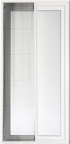 POWERFIX® Alu-Insektenschutztür Plissee, 110 x 220 cm, weiß