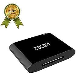 Bluetooth Audio Adaptateur pour Bose sounddock Haut-Parleur de Station d'accueil d'iPod d'iPod de 30 bornes a2dp récepteur Bluetooth 4.1 Adaptateur pour Enceinte Non-Compatible avec la Voiture (Noir)