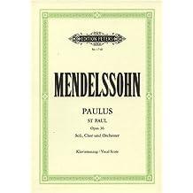 Paulus op. 36: Oratorium / Klavierauszug