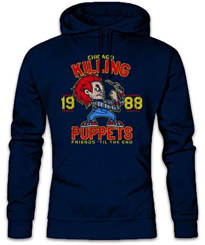 Urban Backwoods Killing Puppets Hoodie Kapuzenpullover Sweatshirt Größen S - 2XL