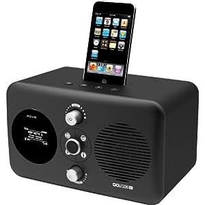 Revo Domino D3 Docking Station für Apple iPod/iPhone mit Wi-Fi-Streaming schwarz