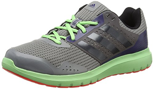 adidas Herren Duramo 7 Sneaker mehrfarbig (Ch Solid Grey/Core Black/Flash Red S15)