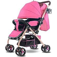 ... bicicleta de paseo segunda mano. Cochecito De Bebé De Dos Vías Ligero Amortiguador Portátil Plegable ...