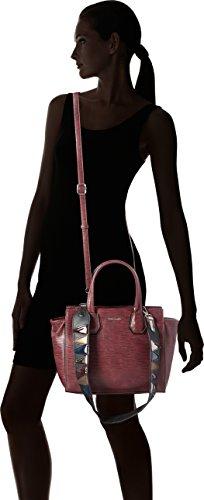 Tamaris - Babette Handbag, Borsa Donna Rosso (Vino Comb)