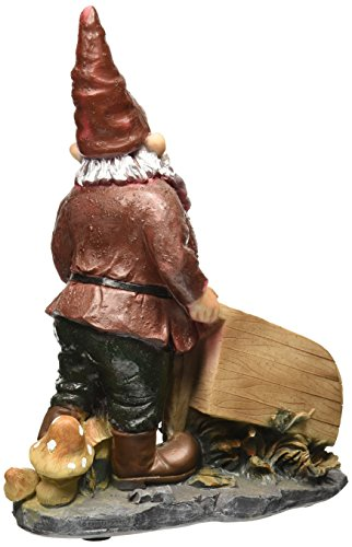 Garden-Gnome-Statue-Wheeler-with-Wheelbarrow-Gnome-Bird-Feeder-Lawn-Gnome