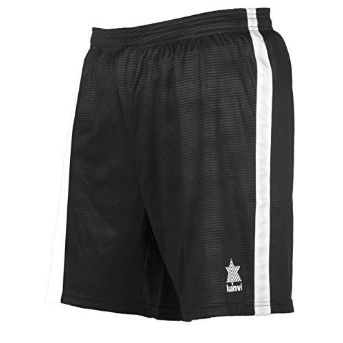 Luanvi Camu Pantalones Cortos, Hombre, Negro, L