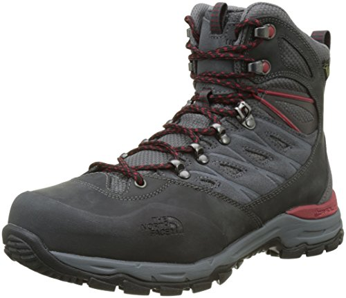 The North Face M Hedgehog Trek GTX, Stivali da Escursionismo Alti Uomo, Blu (Dark Shadow Grey/Rudy Red TCP), 42 EU