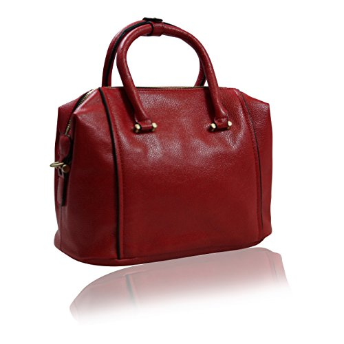 Handbag Krazy, Borsa tote donna Fire Engine Red