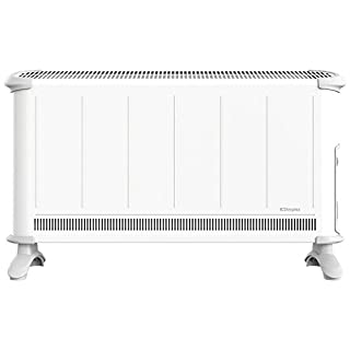 Dimplex Convector with Thermostat Choice of Heat Settings and Timer, 3 Kilowatt, White