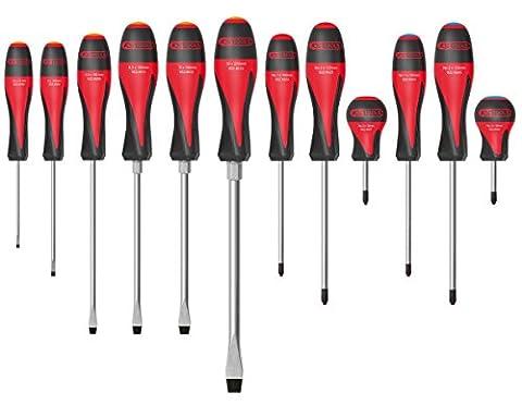 Jeux De Tournevis - KS Tools 922.6080 Ultimate Jeu de 12