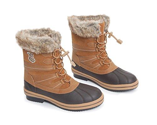 Alaska Bottes d'équitation Chaussures stable Yard marron
