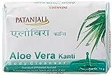 Patanjali Kanti Aloe Vera Limpiador Corporal Jabón, 75 g (paquete de 6) por AyurvedaWorld - por'monde éblouissant' (embalaje puede ser variar)
