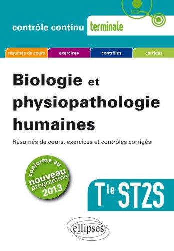 Biologie et physiopathologie humaines Tle ST2S par Laurent Martorell, Sylvie Basmadjian