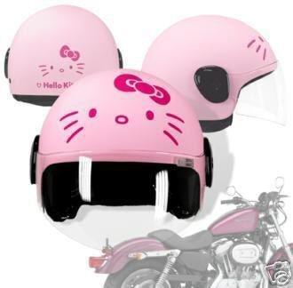 Sanrio Casque de Moto Hello Kitty Rose