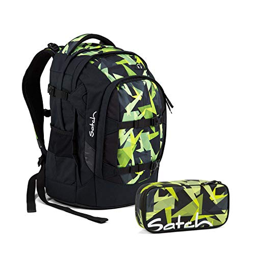 Satch Pack Schulrucksack Set 2tlg. - Motive (Gravity Jungle)