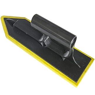 Llana de goma con esponja de 11 pulgadas con mango de plástico, mampostería