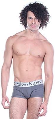Calvin Klein Hombres de la Subida del Tronco Micro de acero de Baja boxer trunk