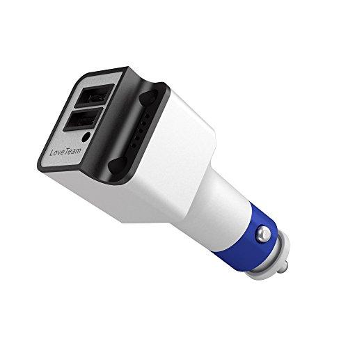 Universal-dc-batterie Eliminator (voyaelects® KFZ-Ladegerät Anionen-Luft sauberer Anschlüssen USB input DC 12–24V Ausgang 5V2A Port KFZ Adapter Luftreiniger Air Waschmaschine Power Drive für 2Für iPhone 7/6/6Plus/6S/6S Plus, iPad Pro/Air 2/Mini 3, Samsung Galaxy Note 5/4, S Serie & Edge Modelle; LG G4/G5, Google Nexus 5X 6P; Action Kamera; iPad; und anderen iOS und Android Geräte Air Eliminator)