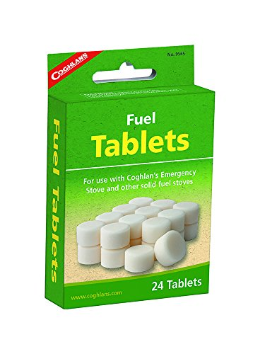 Coghlans 9565 Tablet de carburant, 24-Count
