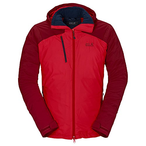 Jack Wolfskin Troposphere DF Hybrid Jacket Men Größe XXL red fire