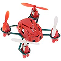 Price comparsion for Mazur Hubsan H111 4 Channels 2.4GHz Mini RC Quadcopter Portable UFO Drone with 6-axis Gyro System & Bright LED Light(color:red)