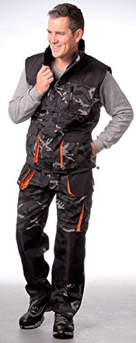 Terratrend Job 3230-50-6210Größe 50Herren 's-trousers-Camouflage/grau/schwarz -