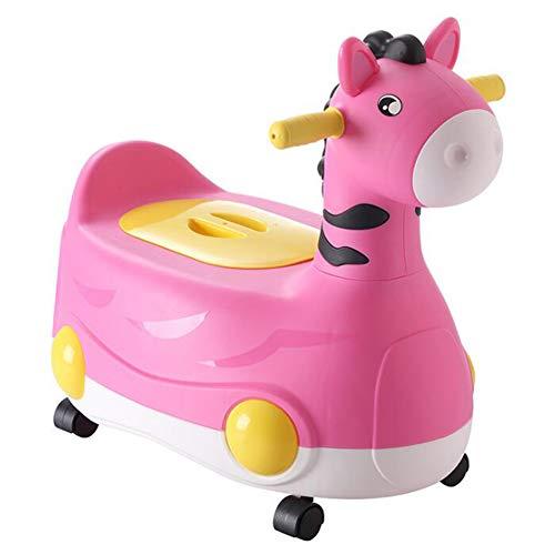 YN BABY Kinder-Töpfchen mit Toilettentrainer von Abnehmbarer WC Topf/Umwandelbar/Kinder-Toilette für Mädchen und Jungen,Pink