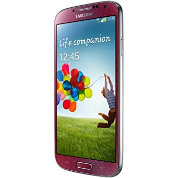 Samsung Galaxy S4 Smartphone (5 Zoll (12,7 cm) Touch-Display, 16 GB Speicher, Android 5.0) rot