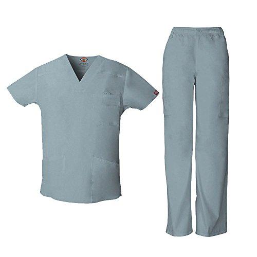 Everyday Scrubs Signature Herren Scrub Set Small Tall Grey (Tall Herren Scrubs)