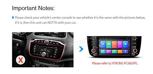 XTRONS-7-Android-90-Quad-Core-Autoradio-2GB-RAM-16GB-ROM-mit-Touchscreen-Multimedia-Player-Plug-und-Play-Autostereo-untersttzt-4G-WiFi-Bluetooth-DAB-OBD2-TPMS-FR-FIAT