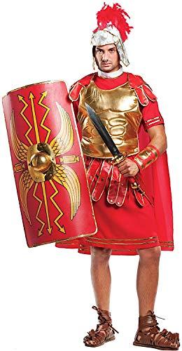 Costume di carnevale da gladiatore romano vestito per uomo adulti travestimento veneziano halloween cosplay festa party 4483 taglia s